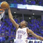 Thunder beat Spurs, advance to Western Conference finals