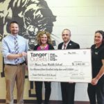Tanger Outlet Mall awards grants to local schools