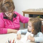 Jeff Library holds Mother's Day workshop
