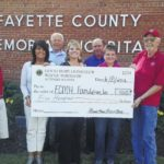 FCMH Foundation receives donation from Good Hope Lions Club