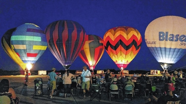 The 2016 Fayette County Toast to Summer was held Saturday at the Fayette County Airport with a balloon glow being held in the evening hours.