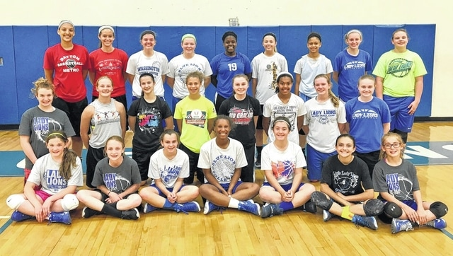 The Washington Lady Blue Lions held a basketball clinic for grades 7-12 June 3 and 4. It was under the direction of new varsity head coach Samantha Leach.