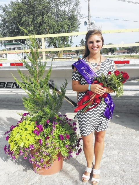 Bethany Reiterman was crowned as the 2016 Fayette County Fair Queen on Sunday evening during the Opening Ceremony at the McDonald's Grandstand. Reiterman said she is excited to have been crowned and is looking forward to the full week of fair events that she, and the court, get to cover.