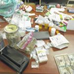 Meth, cocaine, pills found in vehicle