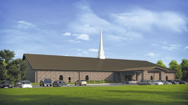 The Sabina Church of Christ will be celebrating the groundbreaking of their new church building this Sunday at 1:15 p.m.