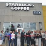 Starbucks officially opens in county
