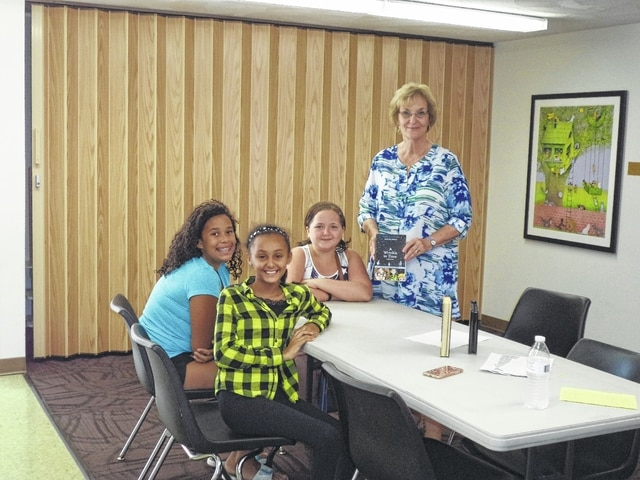 Carnegie Public Library Summer Reading Program is starting to wind down with a few programs left. Stop in to participate in the remaining summer fun. Miss Kay and her students enjoyed a discussion of Coraline and explored classic literature through graphic novels.