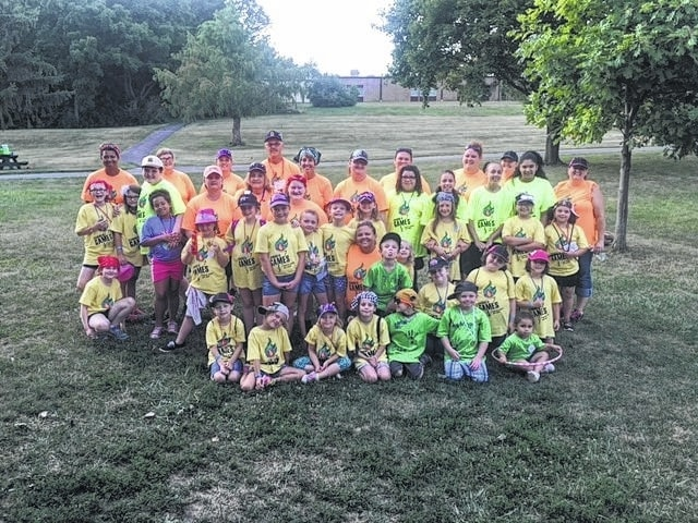 Several girl scout troops got together for the 2016 Twilight Camp recently. This year's theme was Summer Games.