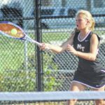 Lady Lion tennis shuts out Miami Trace