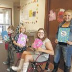 Jeff Library celebrates 'World Smile Day'