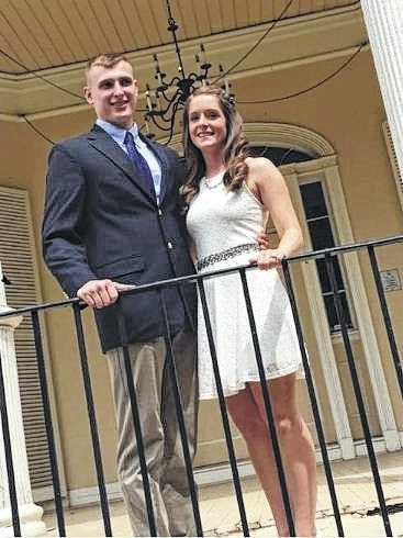 Zack Blevins and Ashley McClaskey married on Sept. 2, 2016, in Colonial Heights, Va. Blevins is a 2012 Washington High School graduate and a 2016 Morehead State University graduate. McClaskey is from Olive Hill, Ky., and is a West Carter High School graduate and a 2016 Morehead State University graduate. Blevins is the son of Jeb and Vanessa Blevins and the brother of Ali Blevins, all of Washington Court House. McClaskey is the daughter of John McClaskey and Mary Holbrook of Kentucky. She is a Lieutenant in the United States Army and is stationed at Fort Campbell, Ky. Blevins is a Lieutenant in the United States Army and is stationed at Fort Rucker, Ala.