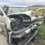 Head-on collision injures two