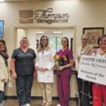 Thompson Orthodontics honored as 'Business of the Month'