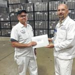 Reisch receives award for service