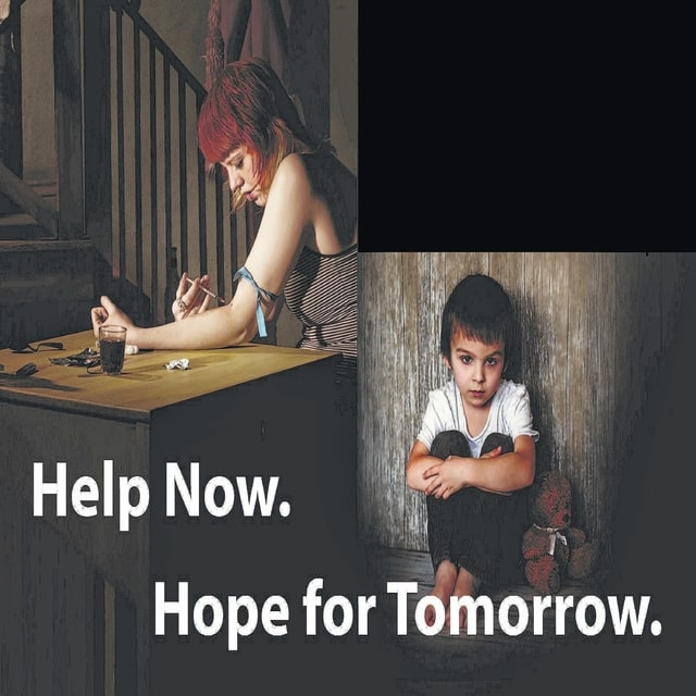 """<em>A three-part series</em> Today through Saturday, the Record-Herald is publishing a series of articles concerning the heroin/opioid epidemic that's impacting many facets of our community. The series - """"Help Now. Hope for Tomorrow."""" - will feature personal accounts from heroin addicts, former addicts and family members of addicts. Our focus is not just on the severity of the crisis we're facing, but also on the many ways recovery and hope are being offered to the afflicted."""