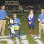 Aaron Hubbell honored by Blue Lions, OHSAA