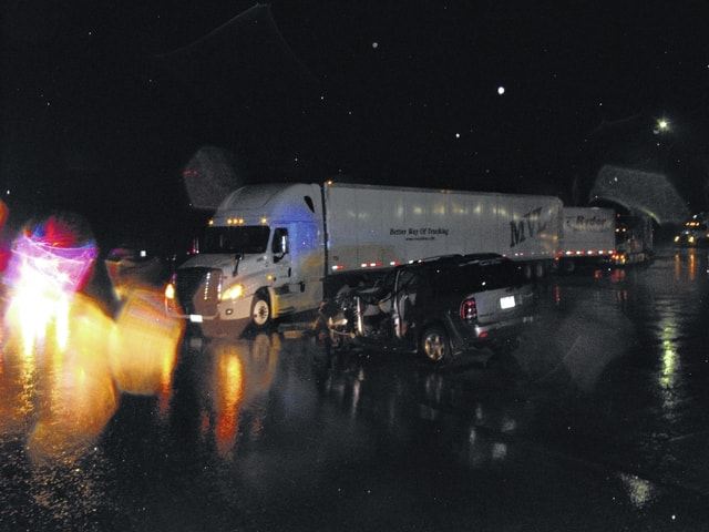 According to the Fayette County Sheriff's Office, Jesse Allen Jr., 49, of Hermitage, Tenn., was driving a 2015 Freightliner semi-tractor trailer and was pulling out of the parking lot of the Flying J truck stop onto State Route 41 North when Woolley's Trailblazer struck the semi-trailer as it crossed both lanes of State Route 41.