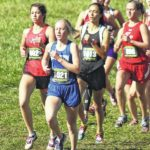 Garrison in top 25 percent at State cc championships