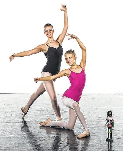 "Victoria Pontious and Hidy Kirkpatrick will be performing in BalletMet's ""The Nutcracker"" from Dec. 9-24 at the historic Ohio Theatre in Columbus."