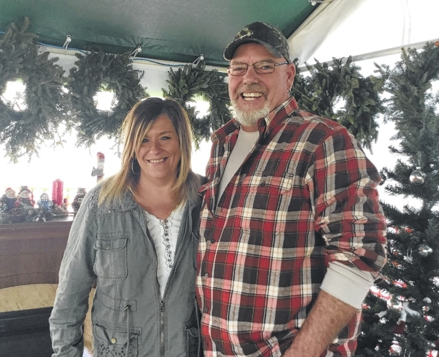 Stacy and Steve Reeves from Washington Court House are hosting Wishes for Christmas at Washington Park.