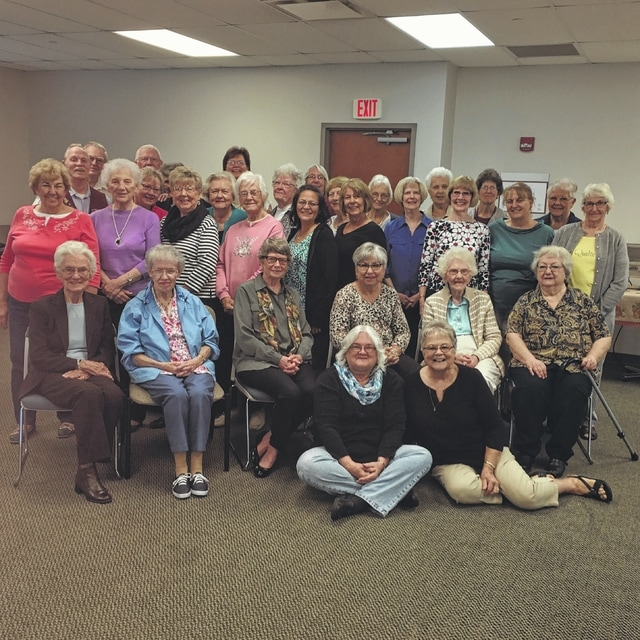 Fayette County Memorial Hospital volunteers recently had their annual reorientation.