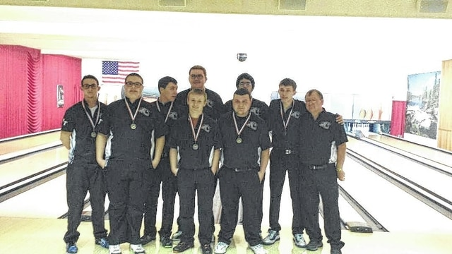 The Miami Trace boys bowling team (above) won the 4th Baker Bowling Bonanza Bash on Saturday, Jan. 21, 2017 at LeElla Lanes. (l-r); Devan Harmon, Tony Altop, Mike West, Jay Caudill (in front), Austin Pickens (behind Caudill), Blake Bradshaw, Jackson Perkins (behind Bradshaw), Andrew Amore and coach Ron Amore Sr.