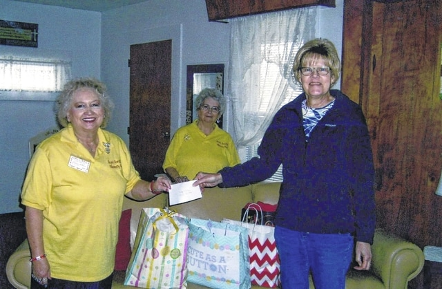 The Madison Mills United Methodist Church Outreach Program recently donated numerous baby items, items for women, and money to the Angel House in Wilmington.