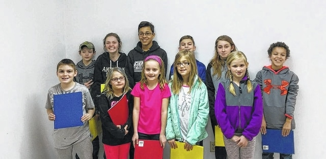 The Yankee RSS Farmers 4-H club recently voted to install the 2017 officers.