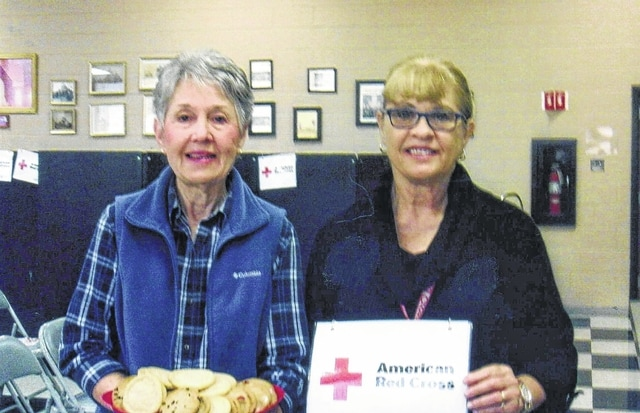 The Fayette County All-N-One 4-H Club provided cookies for the American Red Cross Blood Drive which was held on Feb. 14 at the Grace United Methodist Church. This is one of several Community Service Projects we do as a 4-H Club. Our Community Service Leader is Peyton Johnson. The cookies were received by Marlene Rankin and Miracle Holsinger.