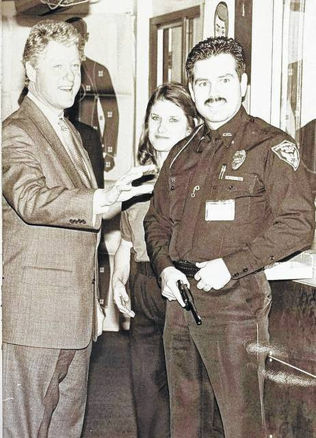 One of Jon Long's favorite memories was meeting President Bill Clinton in 1993 at a peace officer training academy in London, Ohio.