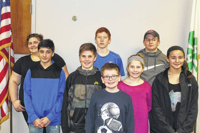 The Kids Kritters-N-Khaos 4-H Club recently elected officers. President - Brayden Smith, vice president - Zoe Wilson, secretary - Shelby Mayer, treasurer - Wyatt Mayer, news reporter - Zyon Wilson, safety - Ethan Bower, health - Danielle Cox, environmental - Jacob Cline and recreation - Kiki Kulin.