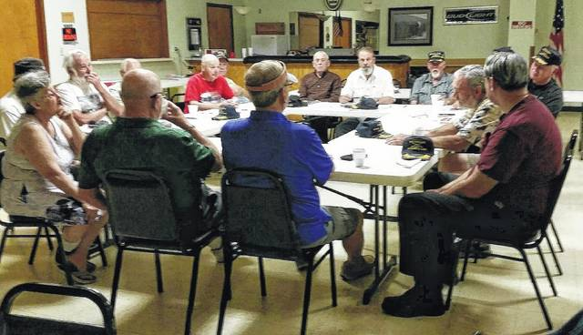 Several members of the Fayette County Veteran Honor Guard recently sat down with the Record-Herald to discuss the nature of war.