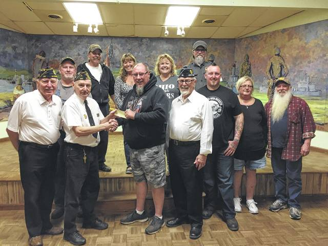 The Southern Ohio Buckeye Bikers recently donated $500 to the American Legion Post 25 to help veterans in the community. The SOBB said they are dedicated to helping veterans with problems of all varieties including building ramps for the disabled, paying bills and much more.