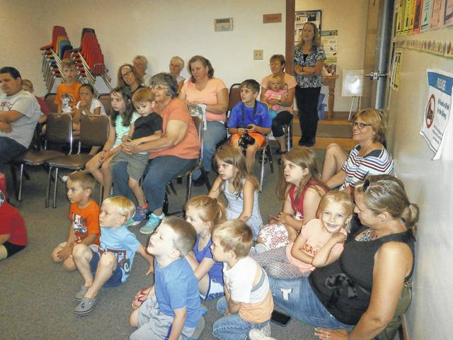A great crowd came out and enjoyed the Totally Gross Magic Show performed by Gordon Russ' alter ego Doctor Ooze at Jeffersonville Branch Library.