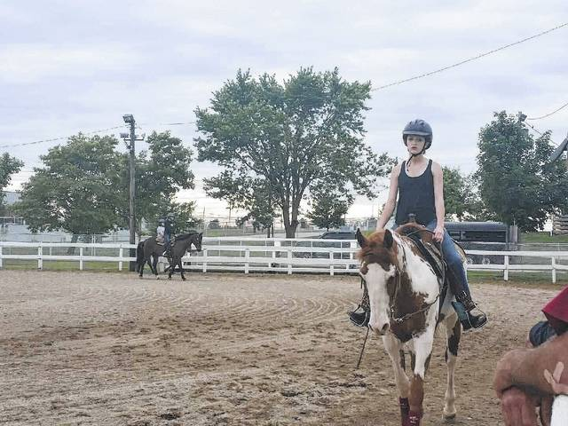 In the month of May, the All-N-One Horse Club started their outdoor meetings. The members met every Tuesday from 6-8 p.m.