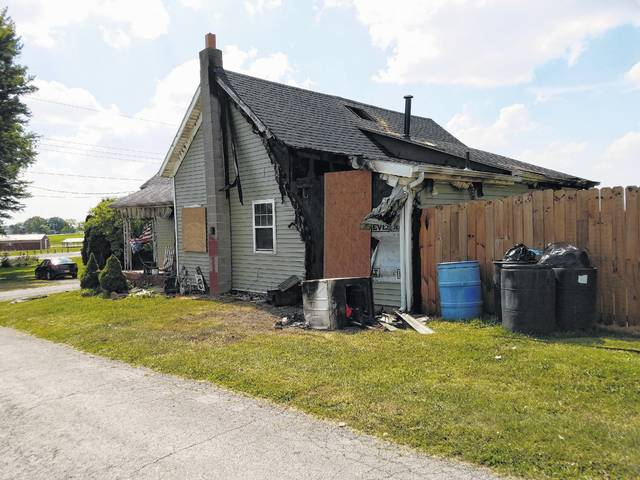 A single-family dwelling at 3120 Vine St. in Staunton caught fire around 4:30 a.m. Sunday. According to the fire chief for Concord and Green, Ralph Stegbauer, the family got out safely, but he said he thinks a cat and a dog perished in the fire.
