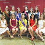 Four vie to become the 2017 Fayette County Fair Queen during the annual Queen's Tea