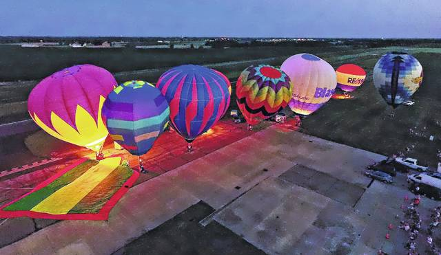 "Fayette County's ""Toast To Summer"" will once again feature a Hot Air Balloon Glow the night of Saturday, June 24."
