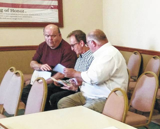 Local pastors, Todd Maurer, John Pfeifer and Jay Lucas, expressed concern at Wednesday's city council meeting about the possibility of a marijuana dispensary coming to Washington C.H.