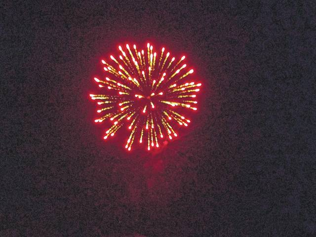 The Village of Jeffersonville celebrated the Fourth of July with events throughout the evening hours, including a fireworks display at dusk. An injury on the scene of the fireworks launch site later in the evening brought an abrupt end to the display.