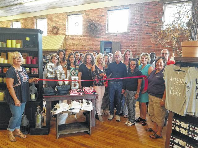 Members of the Fayette County Chamber of Commerce recently celebrated the opening of Sweetwater Bay Boutique in downtown Washington C.H. with a ribbon cutting.