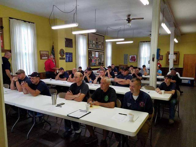 Twenty-three volunteers from Wayne Township, Pic-a-Fay Fire, Jefferson Township, Concord-Green Fire, and Washington C.H. Fire were in attendance July 8.