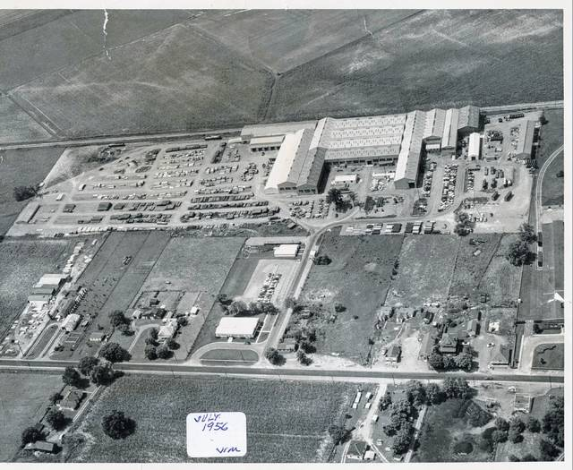 Armco building in July 1956