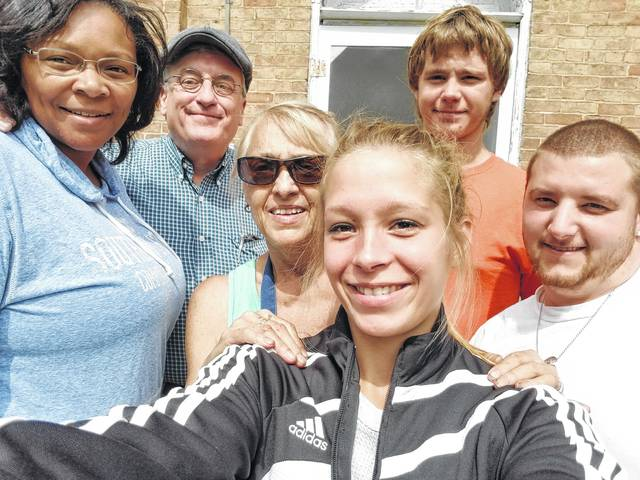 Fayette County YouthBuild gave back to the community on Sept. 11 by dedicating the entire day to a service project at the Spring Grove United Methodist Church.