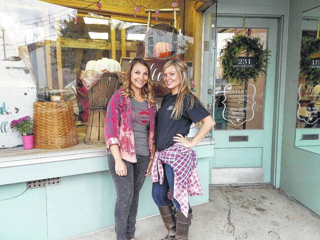 Lindsay Miller and Stephanie Atley held the grand opening for their new store in downtown Washington Court House on Wednesday evening. The Atley Homestead & Home Maid Hunny, located at 231 E. Court St., sells home decor items as well as natural and artisan bath and body products.