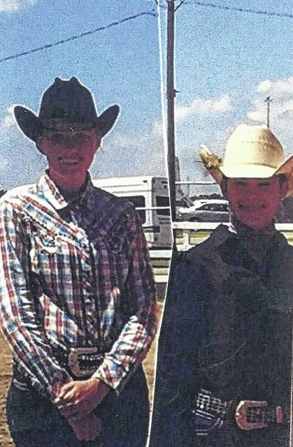 Fayette County had two representatives participating in the Ohio State Fair Horse Show, Andrea Robinson (left) and Madison Johnson (right). Robinson showed in showmanship, horsemanship, and ranch pleasure, and placed seventh in horsemanship. Johnson showed in showmanship, horsemanship and western pleasure, and placed seventh in showmanship. She also placed second in the 13-year-old skillathon division.