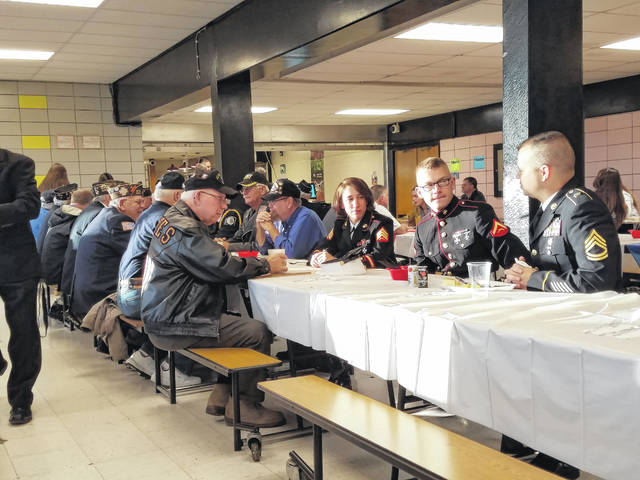 Miami Trace High School held its annual Veterans Day Breakfast and Program Friday morning with veterans from various organizations in attendance.