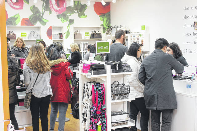 Black Friday shopping started at 6 p.m. Thursday at Tanger Outlets Jeffersonville. Shoppers from all around stopped for great deals throughout the mall and shops remained open during the night to accommodate customers.