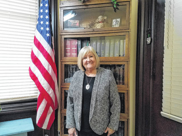 Evelyn Pentzer, Fayette County Clerk of Courts, will retire at the end of the year following 33 years of service to the county. She said she plans to spend more time with her family and sleep in following her retirement, among volunteer work.