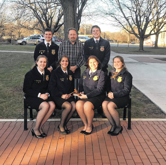 Over the weekend, the Miami Trace FFA won the State FFA Advanced Parliamentary Procedure finals. They are now eligible to compete next fall at the national convention in Indianapolis.